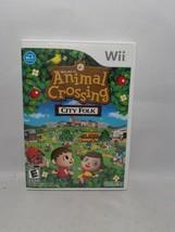 Animal Crossing City Folk Nintendo Wii 2008 - $33.95