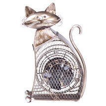 DecoBreeze Small Cat Figurine Fan - DBF0257 - $54.99
