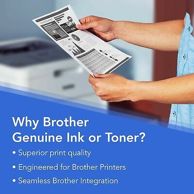 Brother Genuine Drum Unit, DR730, Seamless Integration, Yields Up to 12,000 P...