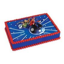 Flying Superman Cake Topper 3pc Kit - $12.82