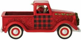 """Jim Shore 13.5"""" Long Large Red Truck Figurine  - Loads of Christmas Cheer image 4"""