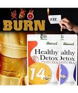 HERBOMAMA 100%Natural 14 Day & Night Healthy Burn Fat Tea Detox Slimming... - $33.00
