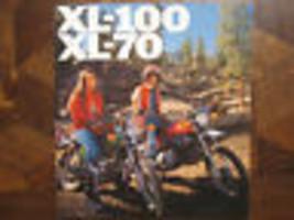 1976 Honda XL-100 & XL-70 Nos Oem DEALER'S Brochure Publicitaire XL100 X... - $76.92