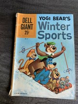 Yogi Bear's Winter Sports Comic Book Dell Giant 1961 No 41 - $15.67