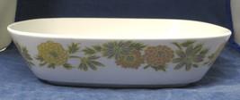 "Sunny Side Noritake 1966 - 1979 9 3/4"" Oval Vegetable Bowl Nice Shape  - $19.80"