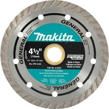 Makita 4-1/2 in. Turbo Rim General Purpose Diamond Blade - $16.99