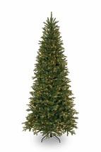 7.5 Foot Tiffany Fir Slim Tree with 600 Clear Lights (PETF3-304-75) - $198.00