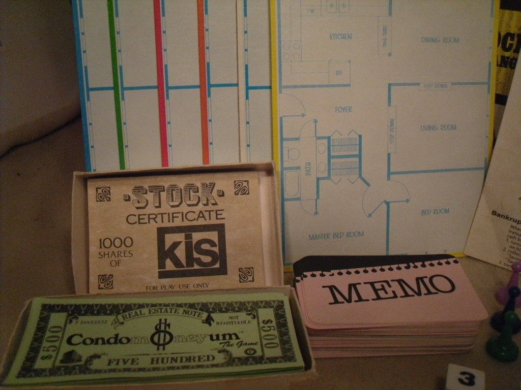 Condomoneyum The Board Game from ESM - 80s Lifestyle image 4