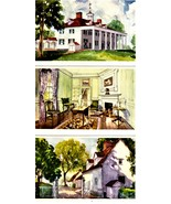Mount Vernon, Virginia - 12 Vintage 1934 Postcards - Washington's Home - $14.00
