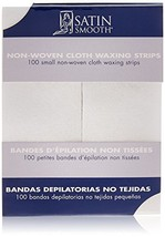 SATIN SMOOTH Small Non-woven Cloth Waxing Strips