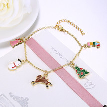 "CHRISTMAS Jewelry Women's Fashion Stretch Beaded Bracelet Earring 7.5"" U... - $11.75"
