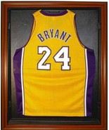 Basketball Jersey Deluxe Full Size Display Case Wood - $239.95