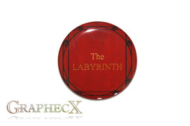 Fan-made The Labyrinth cosplay inspired personalized button - $2.50