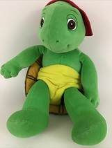 """Franklin Turtle 14"""" Plush Stuffed Animal Toy Red Ball Cap Shell Vintage ... - $35.59"""