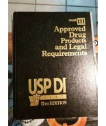 USP DI : Approved Drug Products and Legal Requirements,USP DI  1997 17TH... - $38.79