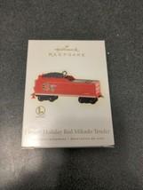 Hallmark Keepsake Christmas Ornament Lionel Holiday Red Mikado Tender NIB - $7.92