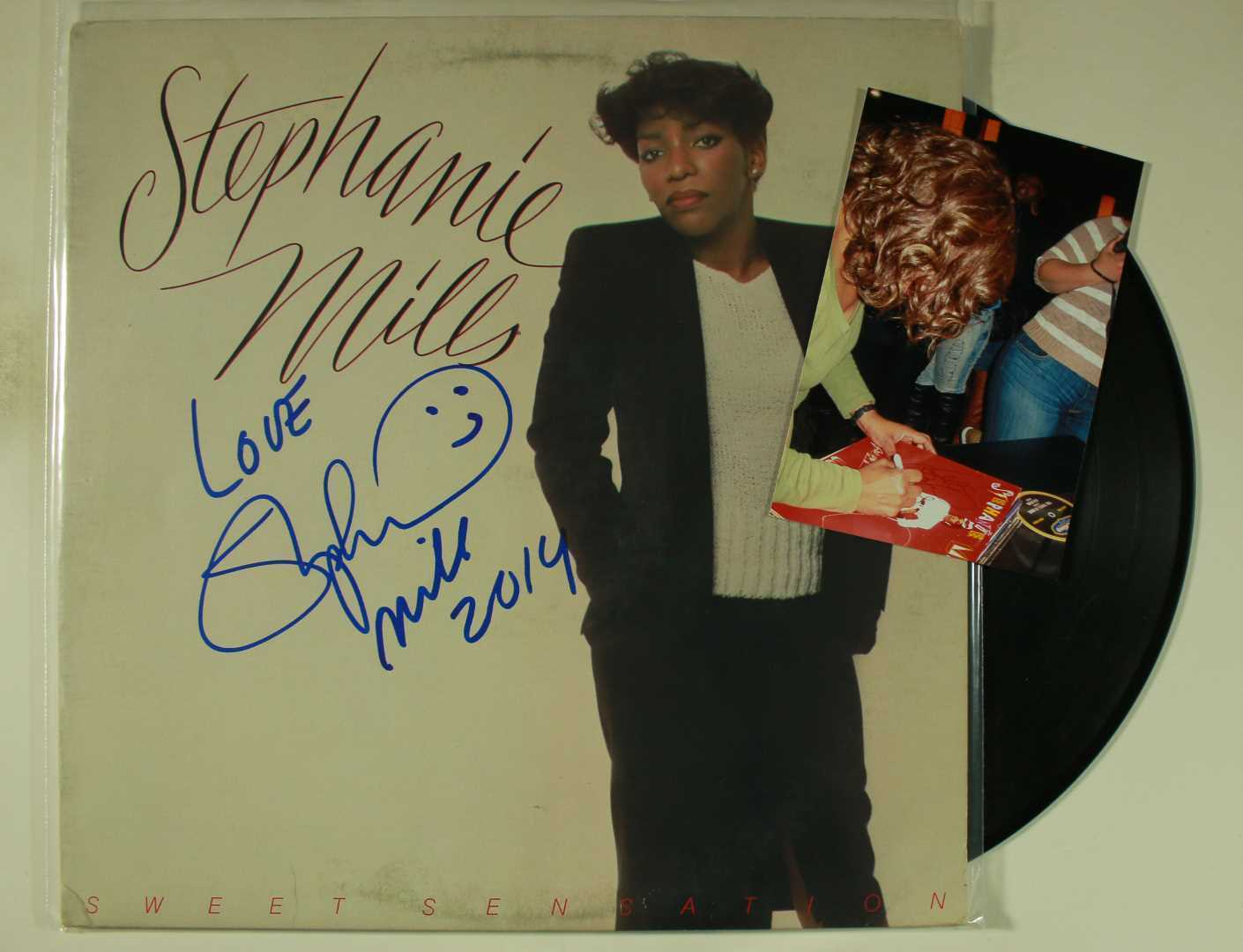 Primary image for Stephanie Mills Signed Autographed Record Album w/ Proof Photo
