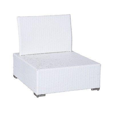 Luxury Wicker Garden Rattan Set Patio Sofa 2 Chairs Coffee Table Cushions White  image 3