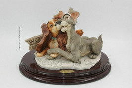 """Florence Giuseppe Armani Disney """"Lady & The Tramp"""" Limited Edition #33/750 - $950.00"""