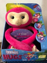 Fingerlings HUGS - Bella - Friendly Interactive Plush Baby Monkey - Pink - $6.00