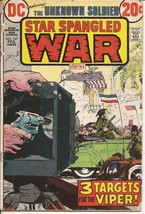 DC Star Spangled War Stories #167 Unknown Soldier # Targets For Viper - $2.95