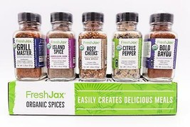 Farmers Market All-Star BBQ: The Essential Organic Spice Set - $24.99