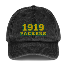 Packers hat / 1919 hat / packers Vintage Cotton Twill Cap image 1