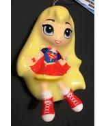 Hallmark DC Comics Supergirl Decoupage Ornament NEW - $15.99