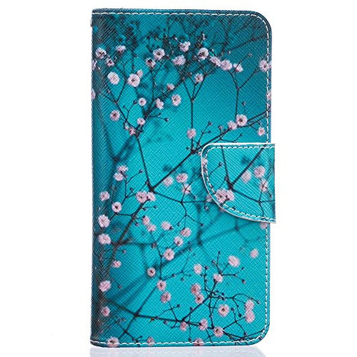 Huawei honor 5C Case, Gangxun PU Leather Cartoon Flip Cover with Wallet Card Hol