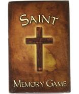ADULT KID SUNDAY SCHOOL CHURCH CATHOLIC SAINT PAIR MATCHING FUN MEMORY C... - $17.96