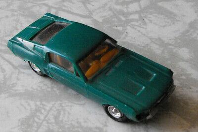 Green Mustang #5 Lindberg Vintage Toy Car