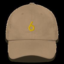 Nick Nurse Hat / 6 Hat / Nick Nurse Dad hat image 8
