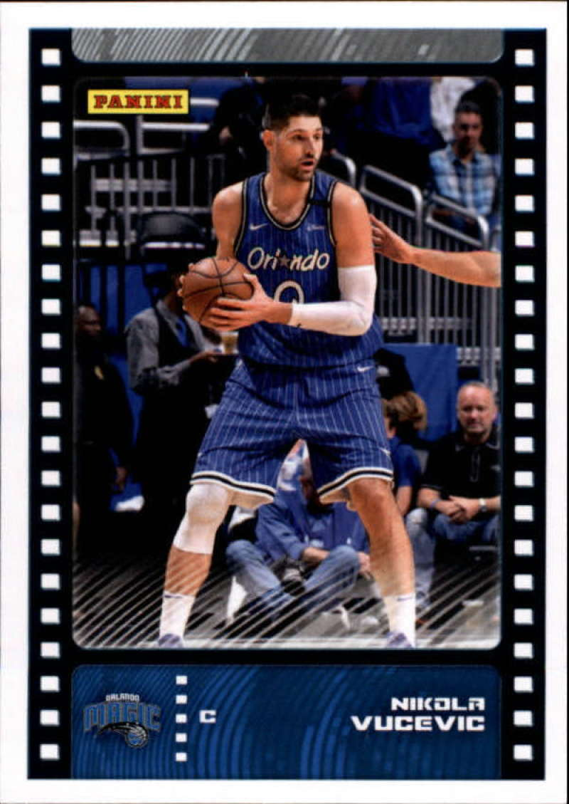 Primary image for 2019-20 Panini NBA Sticker Box Standard Size Insert #42 Nikola Vucevic Orlando M