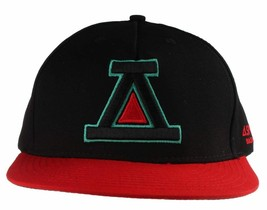Asphalt Yacht Club Black Red Icon A Snapback Baseball Hat Skate Stevie Williams