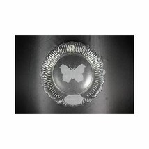 1979 Mother's Day Goebel Crystal Glass Butterfly Wall Hanging Plate In Box - $28.11