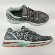 Asics Gel Nimbus 19 Running Shoes Gray White T750N Womens Size 9 Athleti... - $37.36