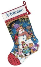Dimensions Needlecrafts Counted Cross Stitch, Cute Carolers Stocking - $21.77