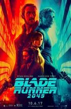 Blade Runner 2049 - original DS movie poster - 27x40 D/S Advance Ford, G... - $28.00