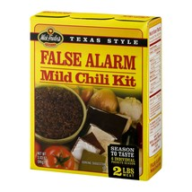 Wick Fowler's All Natural False Alarm Chili Mix, Mild, 2.8 Oz - $1.21