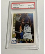 1992 HOOPS SKYBOX SHAQUILLE O'NEAL PSA NEAR MINT 8 #442 (MR) ROOKIE CARD RC - $197.99