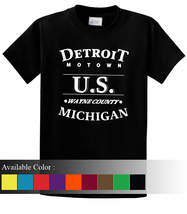 Detroit Motown Funny Men's T-Shirt Size S-3xl - $19.00