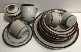 Sierra Stoneware 7 Pc. Place Setting Service Set for 6 (Oven to Table) M... - $188.09