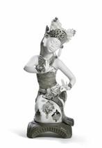 Lladro Retired 01008644 Bali Dancer Kneeling (Re-Deco) New in Box 8644 - $1,100.00