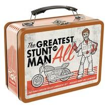 Walt Disney Toy Story 4 Movie Duke Caboom Large Tin Tote Lunchbox NEW UN... - $14.50