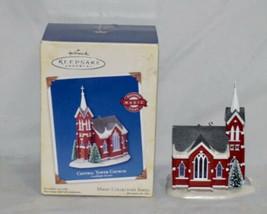 Hallmark Central Tower Church Candlelight Services Magic Collector's Ser... - $16.83