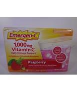 Emergen-C 1,000 mg Vitamin C Raspberry 30 Packets [VS-E] - $13.10