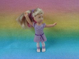 2014 McDonald's American Girl Ready For Rehearsal Isabelle Doll Streaked Hair - $1.49