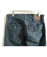 Levis 514 Slim Straight Fit Blue Jeans w\Flap Button back pockets 32 X 29.5 - $22.50