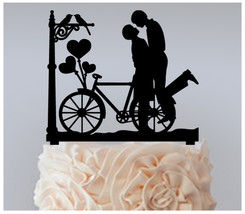 Gay,Wedding,Cake topper,Cupcake topper,silhouette Groom and Groom Package 11 pcs - $20.00