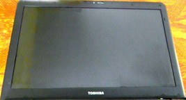 "Toshiba Satellite L505-ES5015 LCD Screen Assembly 15.6"" OEM Back Cover Black - $41.73"
